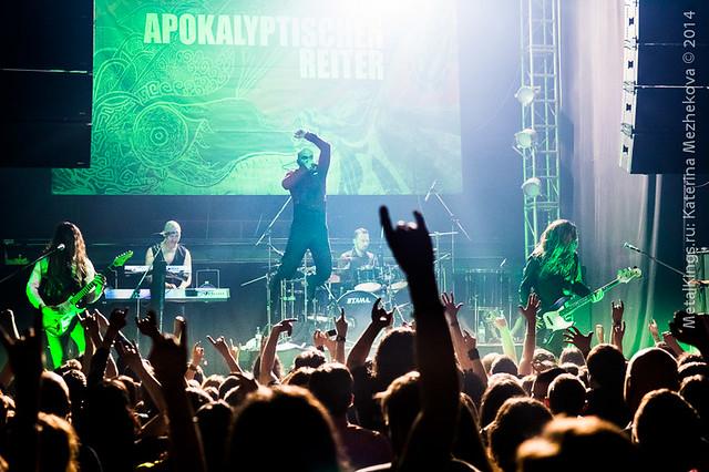 Die Apokalyptischen Reiter in Moscow