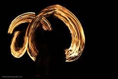 Fire Show at Thailand Island
