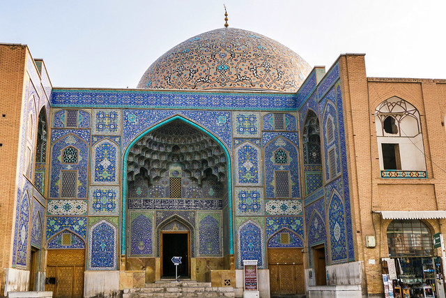Appearance of Sheikh Lotfollah mosque, Isfahan イスファハン、マスジェデ・シェイフ・ロトゥフォッラー外観