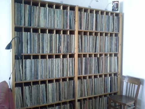 La casa ad Amsterdam: gli LP del proprietario
