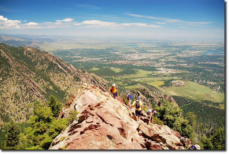 Overlooking Boulder from Bear Peak 7