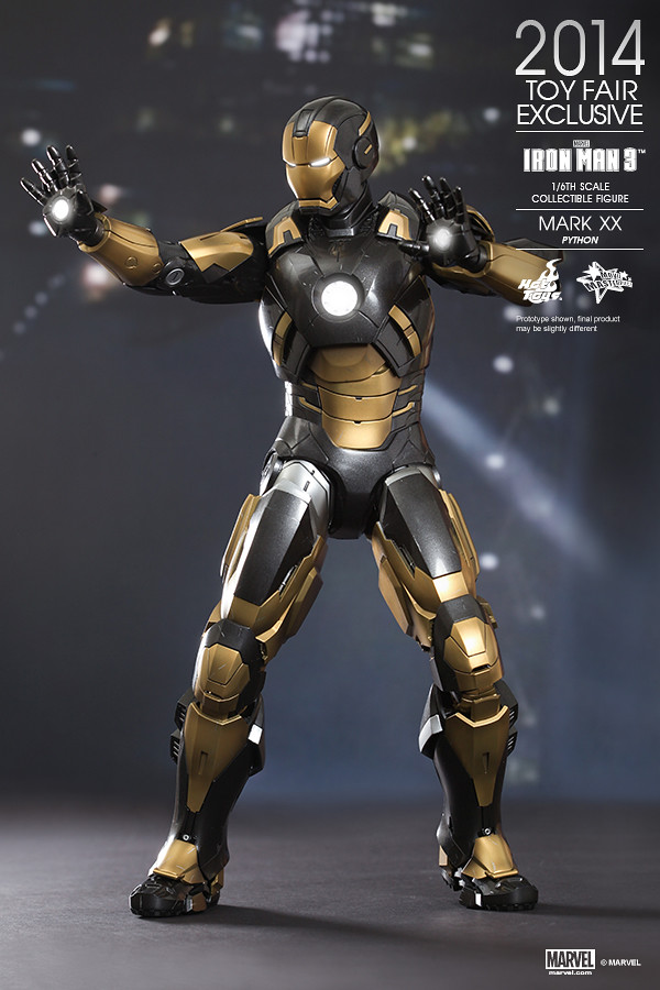 Hot Toys - Iron Man 3 - Python (Mark XX) Collectible Figure_PR02