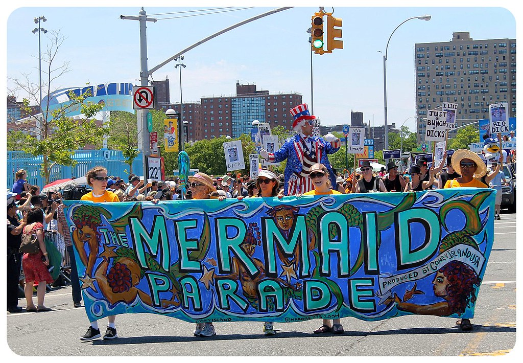 coney island mermaid parade 2014