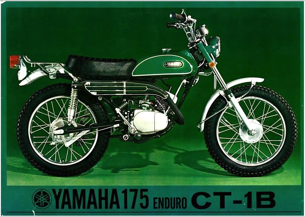 1970 Yamaha 175 Enduro CT 1B