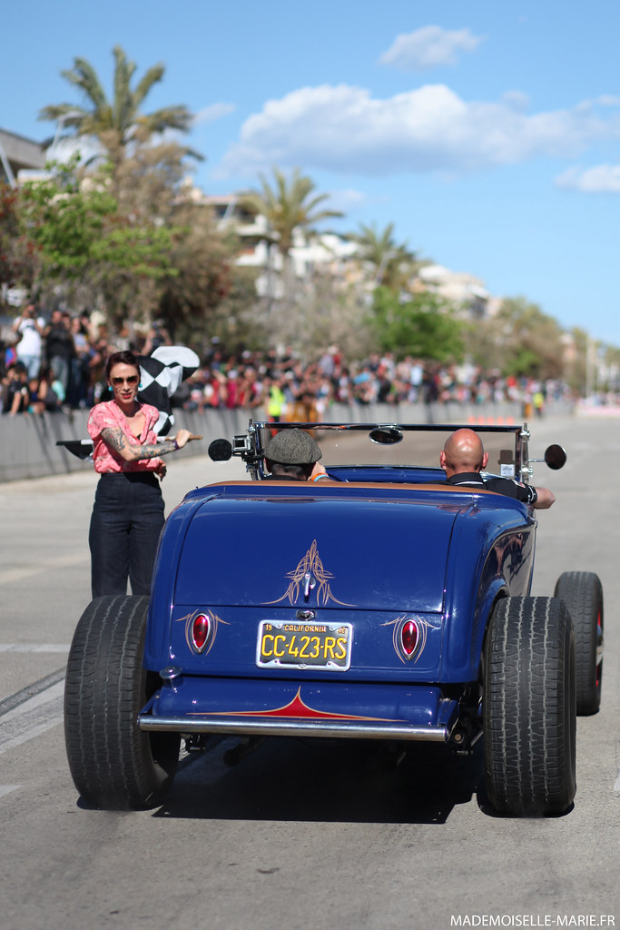 Riverside Car Show Calafell, SPAIN - May 2014
