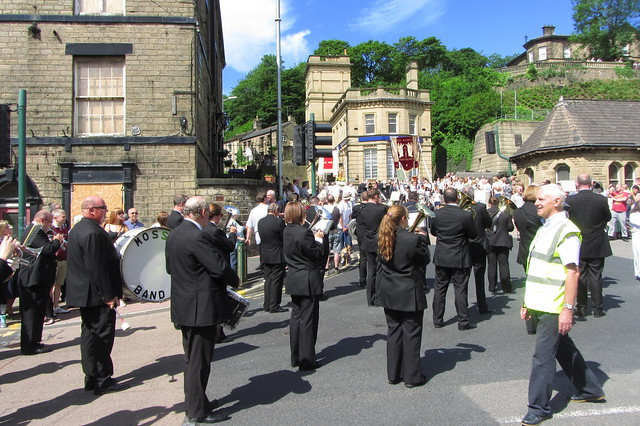 Mossley Band, Manchester Road, Mossley
