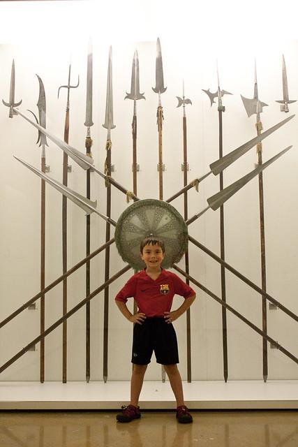 Museo del Ejército Toledo spears