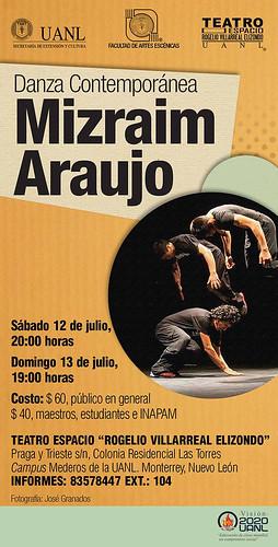 Mizraim Araujo Danza Contemporánea