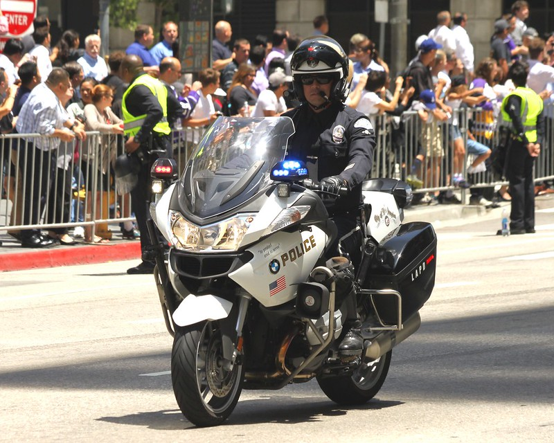 LAPD Motorcycle