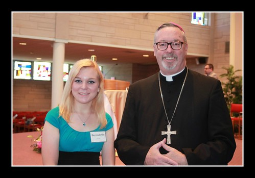Katie and Bishop Coyne