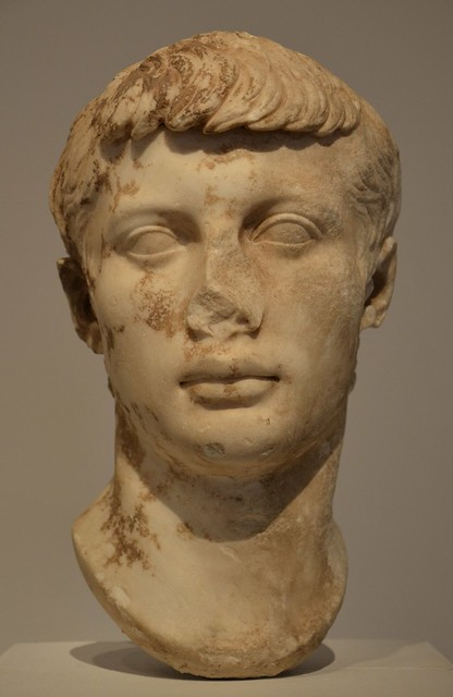 Marcellus, son of Octavia, 25-20 BC, Moi, Auguste, Empereur de Rome exhibition, Grand Palais, Paris
