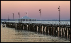 Shorncliffe Jetty at Dusk-1=