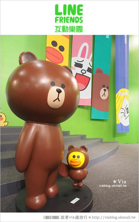 【台中line展2014】LINE台中展開幕囉!趕快來去LINE FRIENDS互動樂園玩耍去!(圖爆多)42