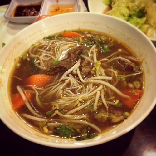 Vietnam cuisine-茄汁牛肉米線