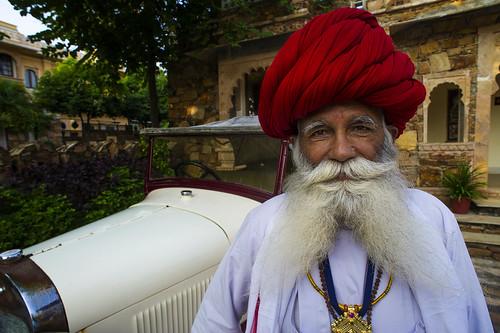 Ranakpur Chauffeur at Maharani Bagh Orchard
