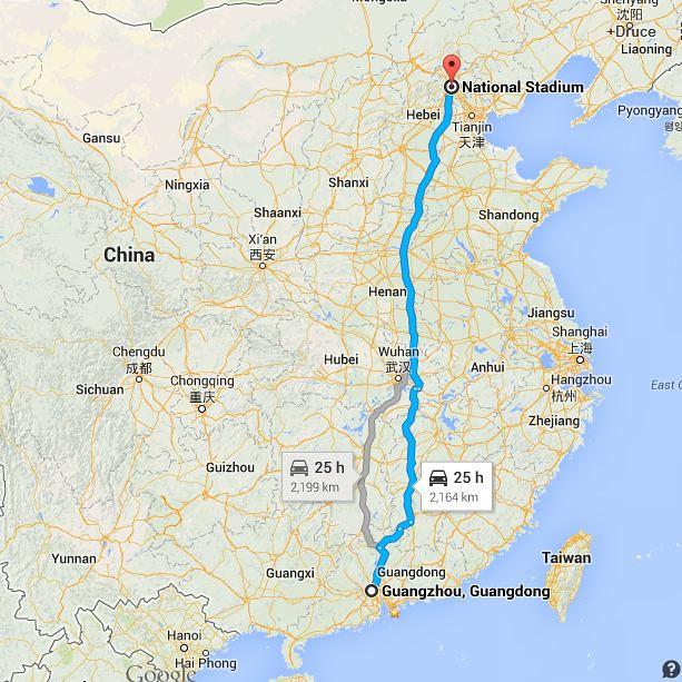 Beijing-to-Guangzhou