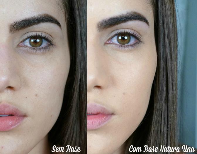 ... bronze & preparação da pele com Base Natura Una! - Super Vaidosa
