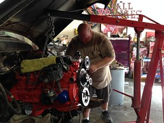 Mechanical Work on a 1957 Chevy Truck