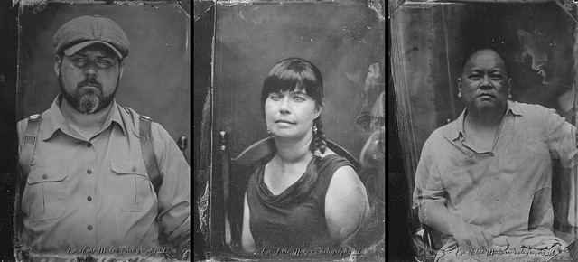 Wet Plate Portraits by photographer Edith Weiler