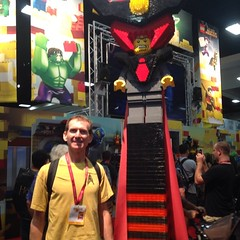 With Lord Business at #sdcc #LEGO