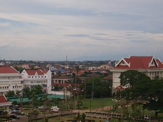 Image of Patuxai near Vientiane.