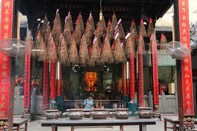 Chùa Bà Thiên Hậu (The Pagoda of the Lady Thien Hau)