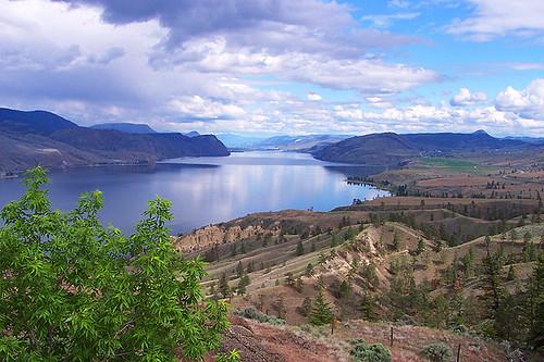 Kamloops Lake near Savona, Gold Country, North Thompson, British Columbia. Photo: Lakeside Country Inn, Savona, BC