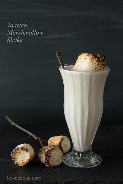 Toasted Marshmallow Shake