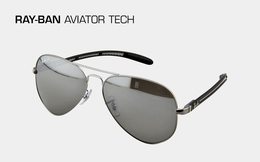22d2b87b29927 ... sunglasses frames can still benefit from carbon fiber s light weight  and high temperature tolerance. Ray-Ban infuses its classic Aviators with  carbon ...