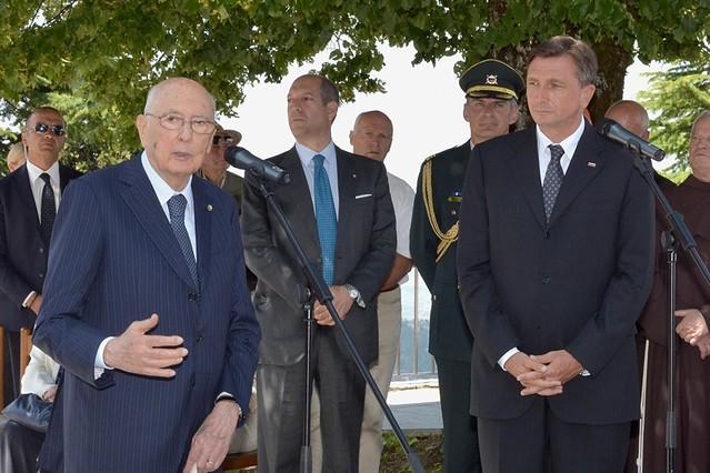 Il Presidente della Repubblica in visita in Friuli Venezia Giulia