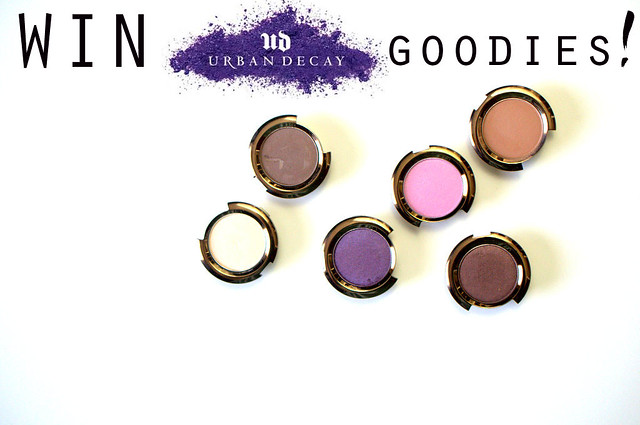 Win An Urban Decay Eye shadow Palette From The Makeup Wars Girls!