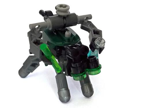 LEGO MOC - Chemical Lab Assistant Turtle 1