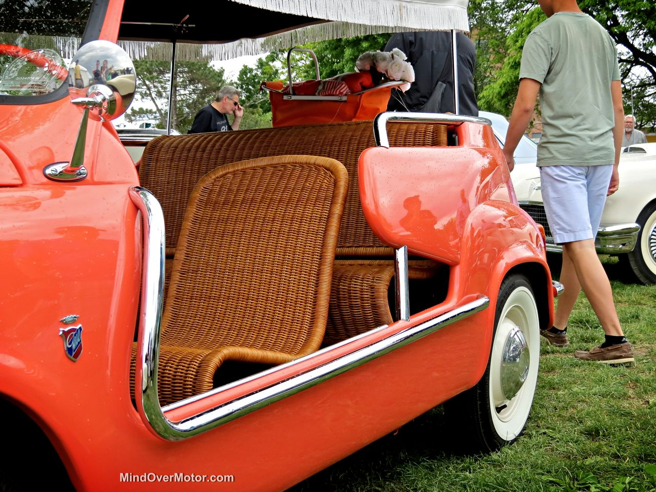 Fiat 600 Beach Car Whicker Seats