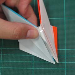 วิธีพับกระดาษเป็นถาดใส่ขนมรูปดาวแปดแฉก (Origami Eight Point Star Candy Tray) 020