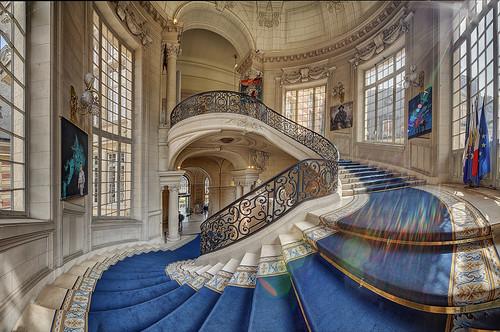Hotel de Ville - Versailles (Pano)