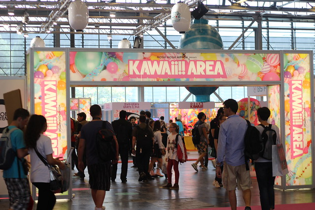 Kawaii Area à Japan Expo 2014