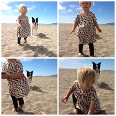Zoe and Max 4 pack at Ocean Beach
