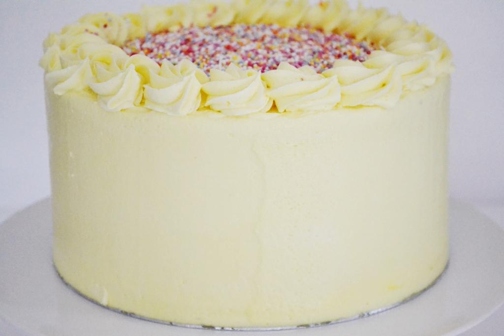 Sprinkles vanila cake
