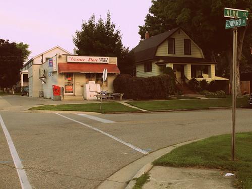 Edward Street & Alma Street