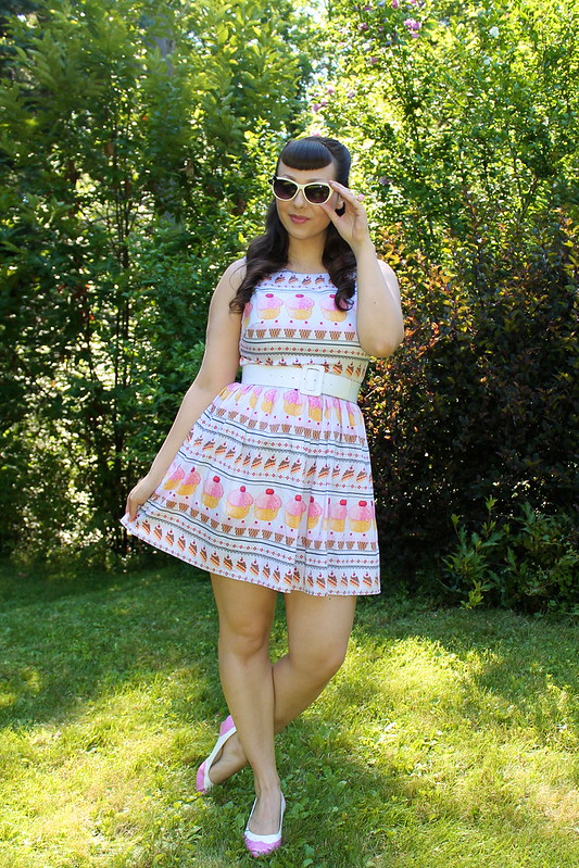ModCloth cupcake dress