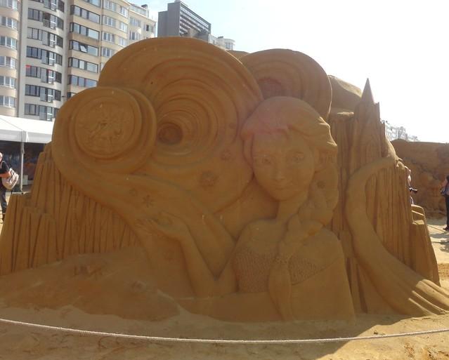 Sculpures sur sable Disney - News Touquet p.1 ! 14770336220_70849db97f_z