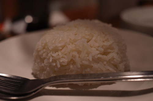 rice for Kaeng Matsaman