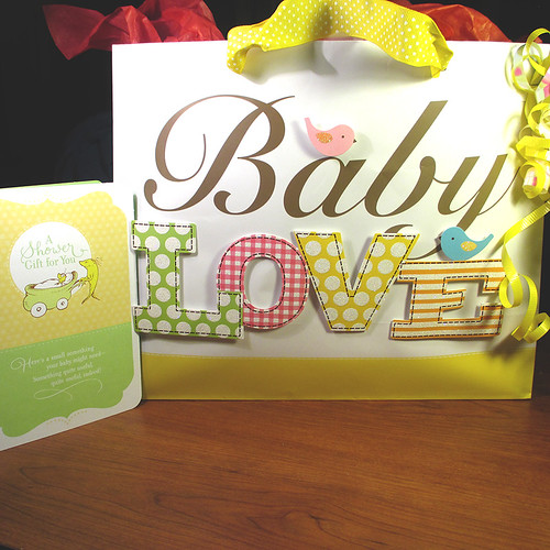 Baby Shower Card and Bag