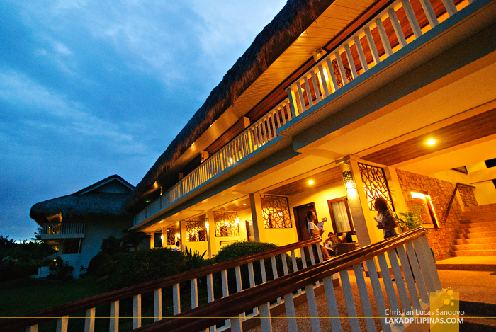 Blue Hour at Bohol Beach Club in Panglao