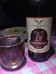 Beersperiment: Highlander Brew Co\'s Scottish Ale (South River, Ontario) @halyma: 4* me: 3*