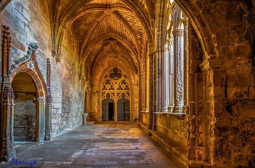 interestingness formas monasterio lleida geometria claustro simetria segarra religiosas catalunyacatalonia santamariadevallbona nikond700 nikon2470 comarcasdelleida rutadelcisters vallbonadelesmontges