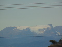 Comox Glacier  11 days later on August 22, 2014