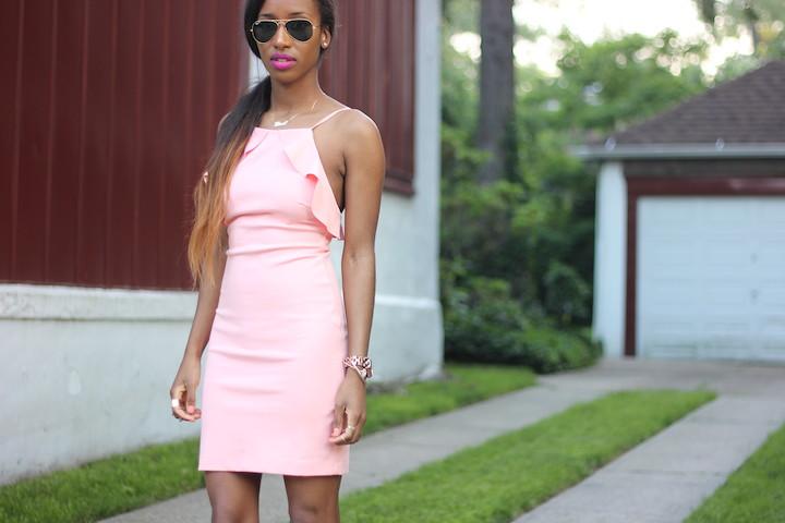 Coral Dress 6