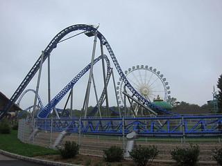 Journée à Nigloland - Alpina Blitz Rollercoaster