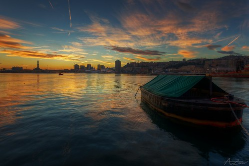 Clouds at Golden Hour, Genova 2013-10-16 184426